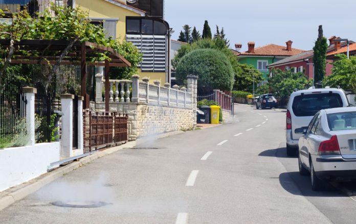 Nadaljuje se dezinsekcija javnega kanalizacijskega omrežja